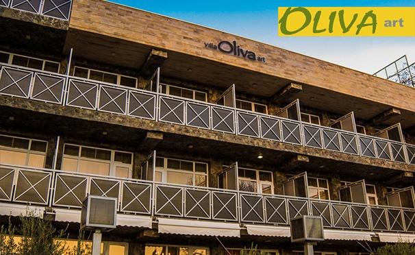 Скидка на Проживание для одного или двоих в отеле «Вилла Олива Арт» в поселке Утёс в Крыму: номера на выбор, завтраки, посещение бассейна, сауны и хаммама. Скидка 50%