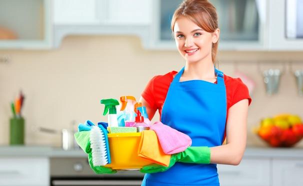 Скидка на Комплексная или генеральная уборка помещений до 100 кв. м, а также мытье до 10 окон от клининговой компании «Мойдодыр и К». Скидка до 67%