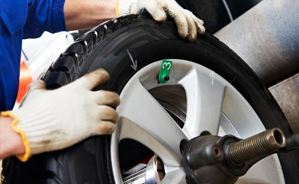 Скидка на Скидка 74% на шиномонтаж и балансировку колес в автотехцентре «Авто-Реал Сервис»