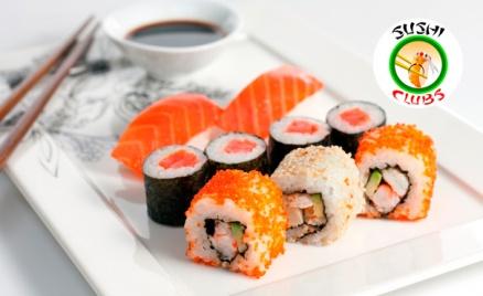 Наборы роллов от Sushi-Clubs
