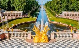 Тур на открытие фонтанов в Петергофе