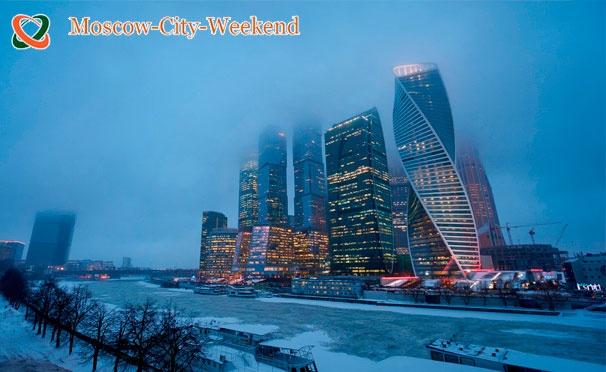 Скидка на Скидка до 85% на экскурсию для детей и взрослых «Знакомство с небоскребами «Москва-Сити» с дегустацией сладостей от компании Moscow-City-Weekend