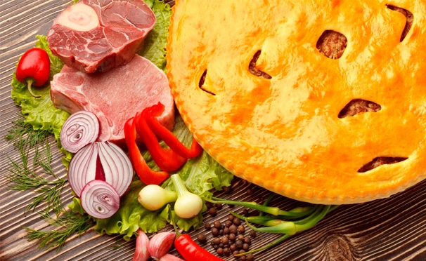 Великолепные блюда прямо у вас дома! Скидка 55% на все меню в службе доставки Rio Pizza. Пицца, осетинские пироги и роллы