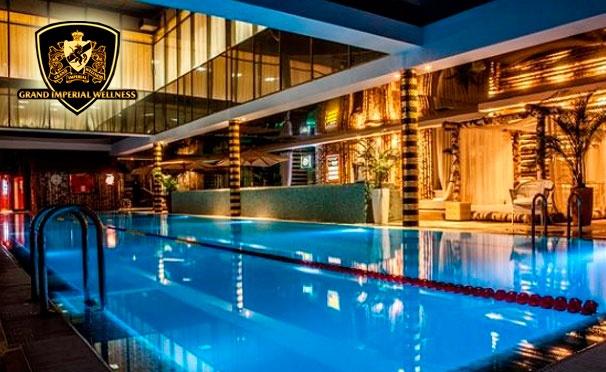 Однодневный гостевой визит для двоих в загородный клуб «Geo-spa-курорт Novahoff»: посещение фитнес-клуба, бассейна, бани и spa-программа. Скидка 72%