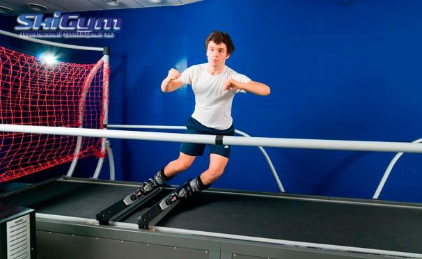 Скидка на До 10 занятий на горнолыжных и сноуборд-тренажерах в клубе SkiGym в парке «Сокольники». Скидка до 60%