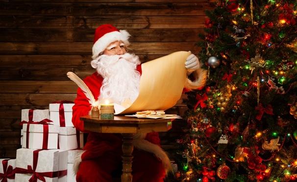 Скидка на Видеопоздравление или письмо от Деда Мороза для детей и взрослых от компании «ОнлайнПодарок». Скидка до 86%
