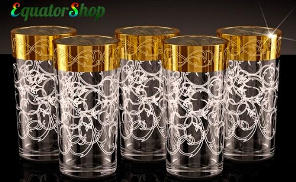 Скидка на Посуда из хрусталя и стекла от интернет-магазина EquatorShop: стаканы, бокалы, рюмки, салатники, кувшины, наборы и не только. Скидка до 84%