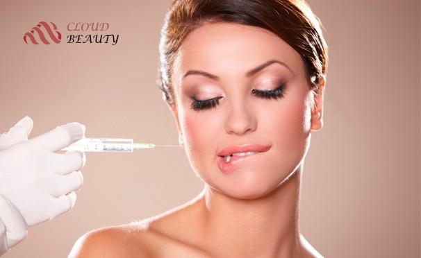 Скидка на Контурная пластика в салоне эстетической косметологии Cloud Beauty: инъекции «Ботокса», биоревитализация, увеличение губ, скул или коррекция носогубных складок. Скидка до 60%