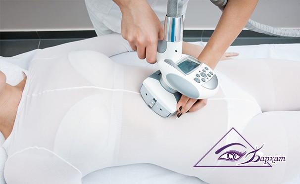 Скидка на Услуги центра косметологии и коррекции фигуры «Бархат»: вакуумный массаж всего тела, увлажнение кожи лица на аппарате Vitalaser и RF-лифтинг лица. Скидка до 87%