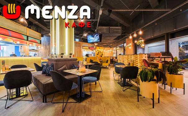 Скидка на Лапша, блюда на воке, суши, роллы, рамен-бургеры и другие блюда в «MENZA кафе». Скидка 50%