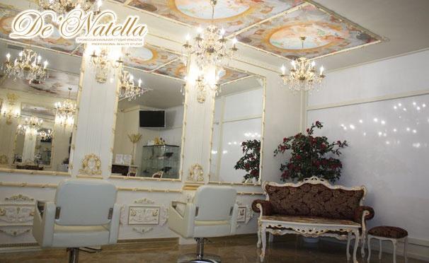 Стрижка, бразильское мелирование, брондирование, омбре, ламинирование, экранирование и не только в студии красоты De'Natella. Скидка до 87%