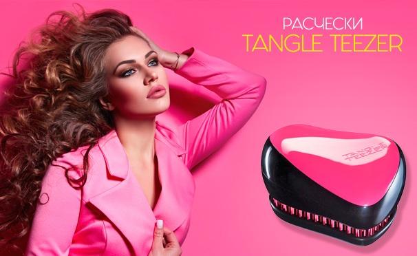 Скидка на Компактные и удобные расчески Tangle Teezer от интернет-магазина Spasibomarket. Скидка до 56%