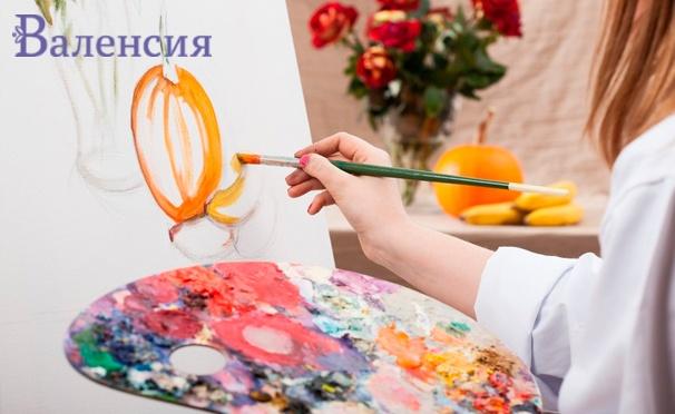 Скидка на Мастер-классы по декупажу и декорированию, тренинги по рисованию в студии живописи «Валенсия». Скидка до 69%